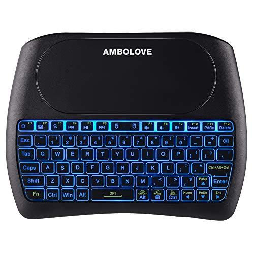 Backlit Wireless Mini Keyboard
