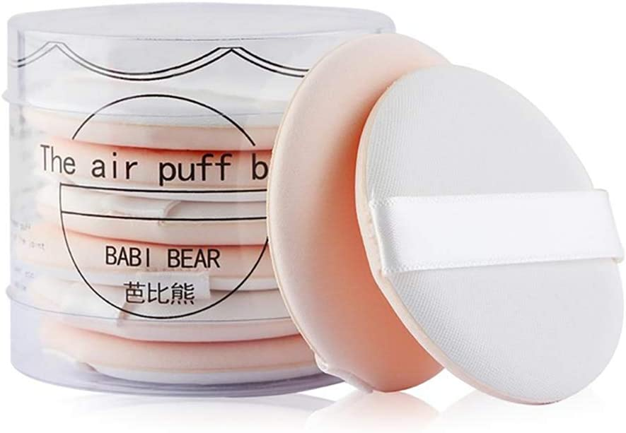 Xiton Paquete de 8 Base de maquillaje ultra suave Esponja Cojín de ...