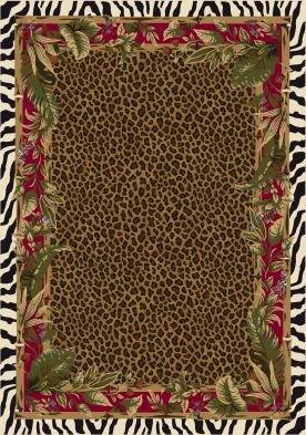 Milliken Signature Jungle Safari | Ruby Area Rug 5'4
