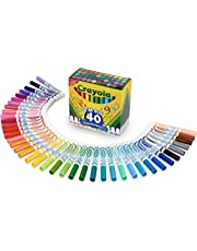 Crayola 58-7858 Ultra-Clean Washable Markers, 40ct