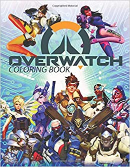 Overwatch Coloring Book Awesome Book For Kids Telus 9781790602360