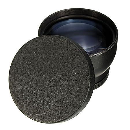 MASUNN Lente Telefoto De 52Mm 2X para Nikon D3100 D5200 D5100 ...