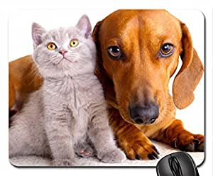 ADOABLE FRIENDS Mouse Pad, Mousepad (Dogs Mouse Pad) by runtopwell