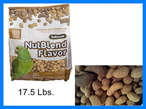 Premium Nutritional Products Nut Blend Bird Food 17.5 Lb by ZuPreem
