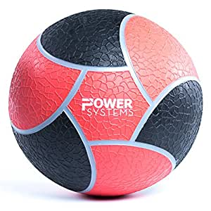 Power Systems Elite Power Medicine Ball, 10 Pounds, 10 Inch Diameter, Red (25210)