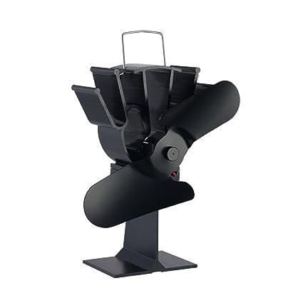 Generic ventilador de estufa Ecofan Classic dos cuchillas diseño aluminio