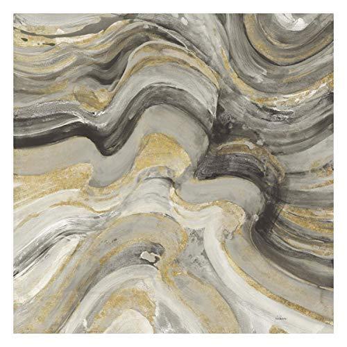 (Global Gallery Albena Hristova 'Floating Lava Neutral' Unframed Giclee on Paper Print 24