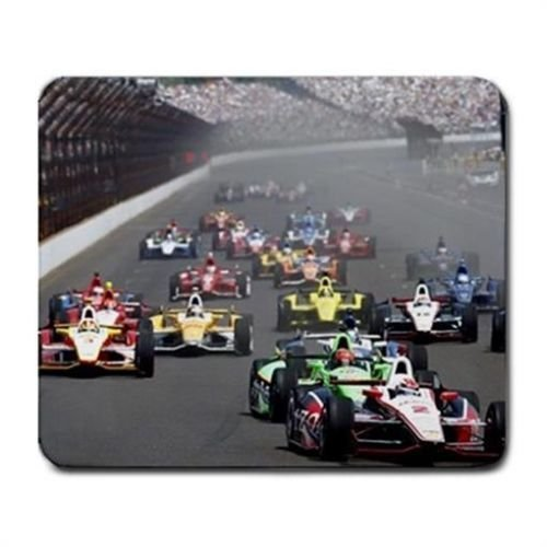 Echonie Indy 500 Race and Cars Mouse Mat Pad Mousepad ()