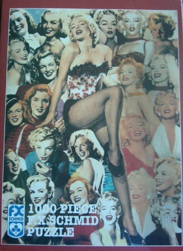 (F.X. Schmid Memories of Marilyn Monroe jigsaw puzzle)
