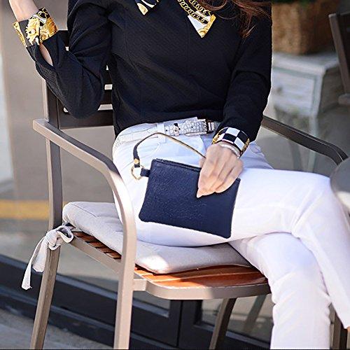 2 2018 Partie color Sacs D'embrayage Main Cuir Officiel Blue Pu Yan Cocktail Nouvelle Fourre 1 À Bureau Mode Sac tout En Blue Carrière Club Et Femmes Party Mariage awP8E