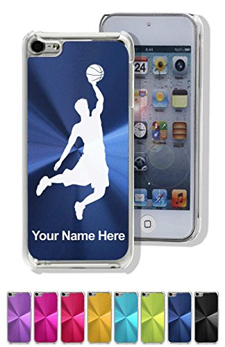 Case For Iphone 5C - Basketball Slam Dunk Man - Personalized Engraving Included