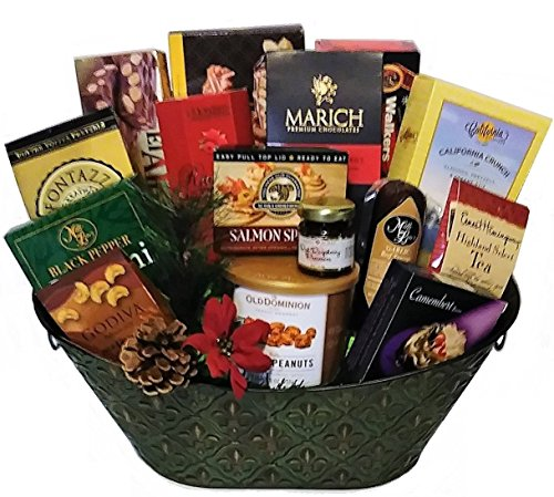 Classic Gourmet Gift Basket by Goldspan Gift Baskets