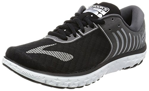 Brooks Women's PureFlow 6 Black/Anthracite/Silver 8 B US
