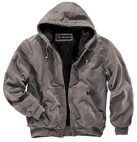 DRI Duck Men's Cheyenne Jacket (Gravel, Medium)