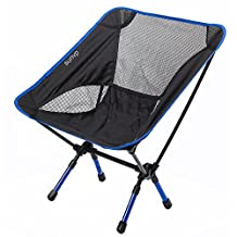 Portable Ultralight Adjustable Folding Chair with Carrying Bag Heavy Duty Capacity Chair for Outdoor Camping Hiking Fishing
