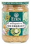 EDEN FOODS, Saurkraut, Og2, Pack of 12, Size 18 OZ, (Kosher Vegan 95%+ Organic)