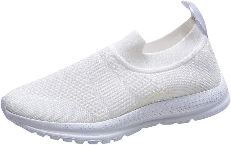 Zapatillas Deportivas de Mujer Running Verano 2020 PAOLIAN Zapatillas Mujer Deporte Fitness sin Cordones Baratas Zapatos de Mujer Caminar Vestir Cómodos Sneaker Ligero Transpirable: Amazon.es: Zapatos y complementos