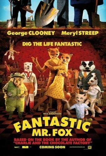 Fantastic Mr. Fox One Sided Original Vf 2009 Art Poster - No Frame(11x17)