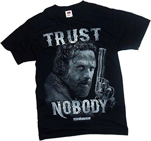 Trust Nobody Grimes Walking T Shirt product image