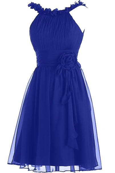 Toscana novia para mujer dos-Traeger por la noche vestidos de gasa vestido corto vestidos