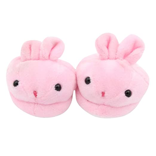 1e01724a50af Image Unavailable. Image not available for. Color  Witspace Pink Bunny Doll  Shoes Cute Animal Plush Slippers For 18 quot  American Girl Dolls