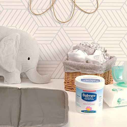 Balmex Complete Zinc Oxide Protection Diaper Rash Cream, 16 Oz
