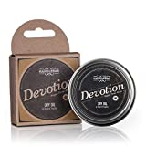Devotion - Patchouli Floral Aroma - Premium Beard Balm For Men | Dry Oil Beard Conditioner | 2 Oz Stainless Steel Tin