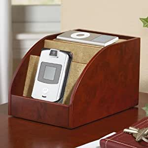 Amazon Com Mini Charging Station And Desk Organizer For