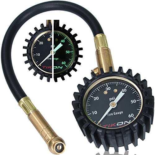 Tire Pressure Gauge (0-60 psi) for Car Auto Motorcycle Truck RV ATV