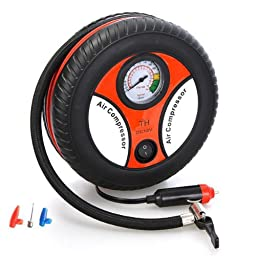 LEMFO Mini Portable Car Air Compressor 12v Auto Inflatable Pumps Electric Tire Inflaters 260psi