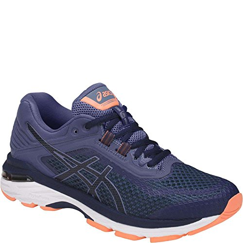 ASICS GT-2000 6 (2E) Women's Running Shoes Indigo Blue/Indigo Blue/Smoke Blue 7.5
