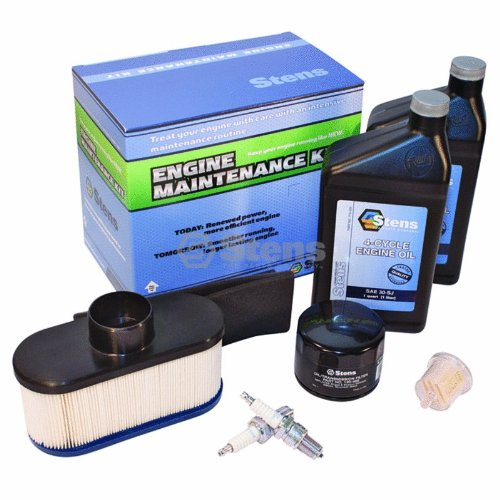 Stens 785-654 Engine Maintenance Kit, Replaces Kawasaki: 99969-6189, 99969-6189A, 99969-6189B, Air Filter Varies in Color - Engine Material Kit