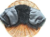 Real Ostrich Feather Cape With Silk ribbon Scarf