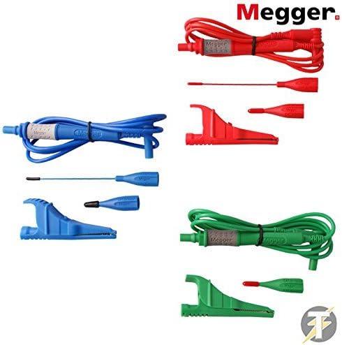 Megger 1001-883 3-Wire Test Lead Set for MFT1500 Series