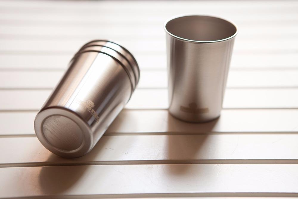 10oz Stainless Steel Cups - Metal Cups For Kids - BPA free (4 Pack) by Greens Steel (Image #3)