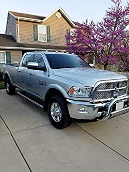 AntennaMastsRus OEM Size 31 Black Antenna is Compatible with Dodge Ram Truck 2500 1999-2009 Stainless Steel Threading Spring Steel Construction - Spiral Wind Noise Cancellation