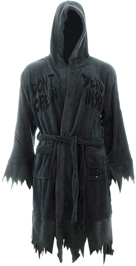 Adult open bath robe join