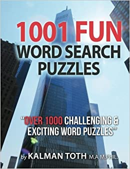 1001 Fun Word Search Puzzles: Volume 1 (COGNITIVE BOOTCAMP)