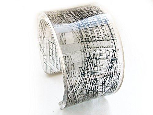 1-bold-resin-acrylic-handmade-plexiglass-epoxy-plastic-bracelet-cuff-with-blueprint-apartments-graph