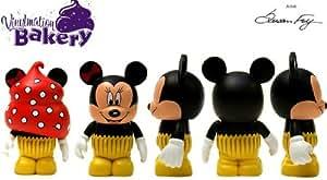 Amazon Com Disney Vinylmation 3 Quot Bakery Minnie Mouse