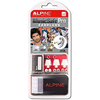 Alpine MusicSafe Pro Hearing Protection System for Musicians, White