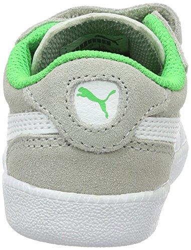 Puma Icra Trainer Sd V Inf, Zapatillas Unisex Niños Gris (Gray Violet-puma White 15)