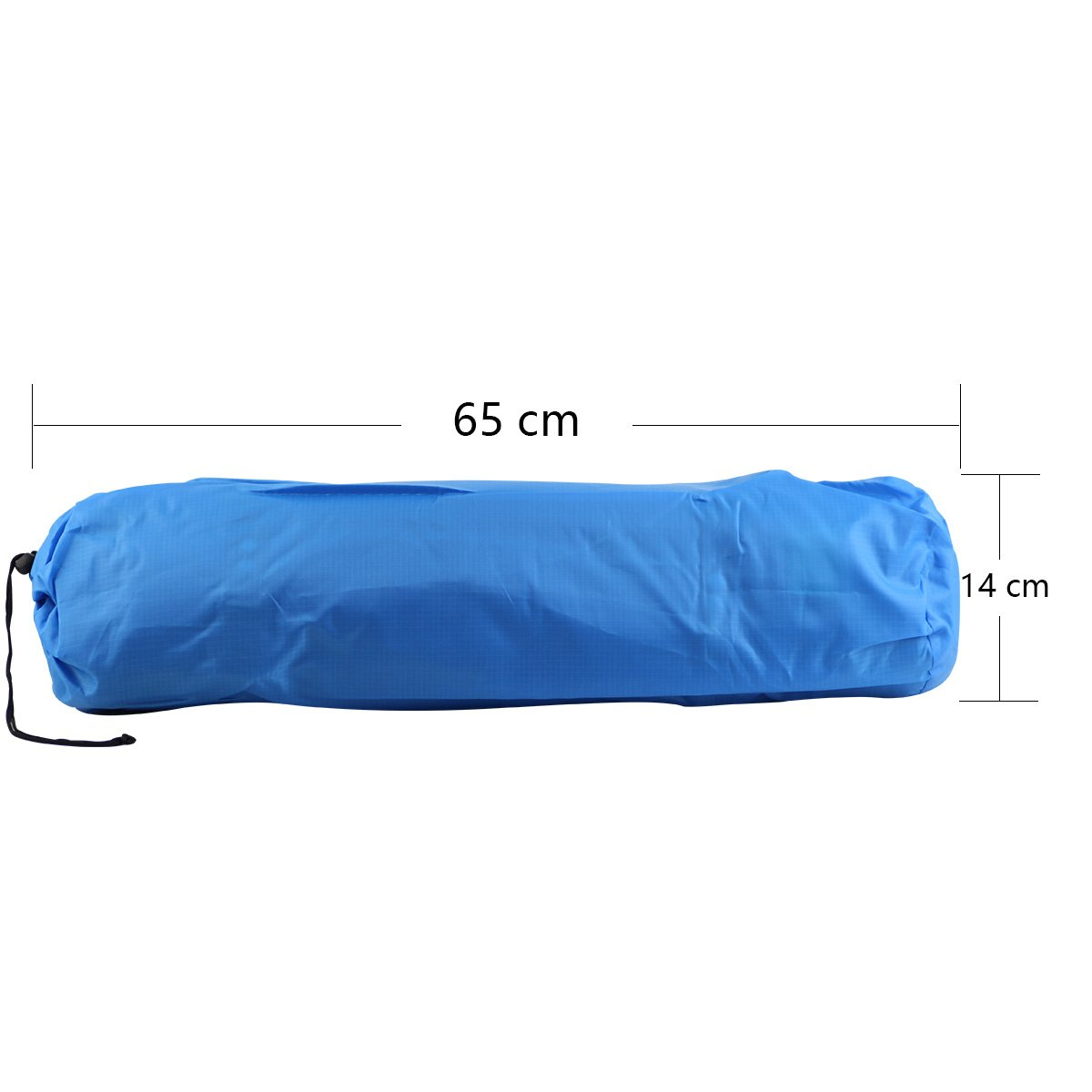 Mattress for Tent in Camping Hiking and Outdoor Activities Qisan Self Inflating Camping Mat Sleeping Mat with Pillow Portable Sleeping Pad