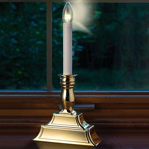 The Dual Intensity Window Candles by Hammacher Schlemmer