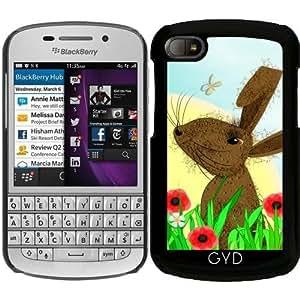 Funda para Blackberry BB Q10 - Marcha Enojada Liebres De Campo De La Amapola by Blingiton
