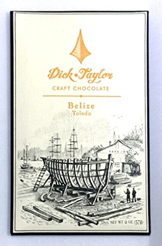 (DICK TAYLOR CHOCOLATE 72% Belize Bar, 2 OZ)