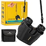 Binoculars for Adults Compact and High Powered – 10x25 Best for Bird Watching
