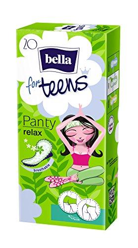 Bella for Teens Slipeinlagen Relax, 7er Pack (7 x 20 Stück)