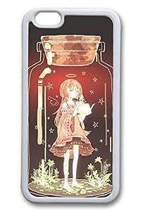 Anime Glass Bottle Girl Cute Hard For SamSung Galaxy S5 Case Cover Case Hard shell White Cases