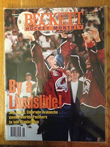 BECKETT HOCKEY MONTHLY AUG 1996 JOE SAKIC AVALANCHE NICE (Joe Sakic Hockey)
